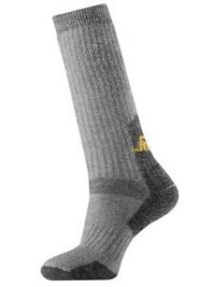 Snickers 9210 Hoge Wollen Sokken - Grey
