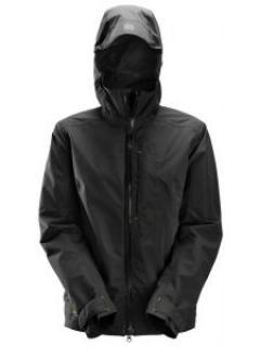 Snickers 1367 AllroundWork, Waterproof Shell Damesjack - Black