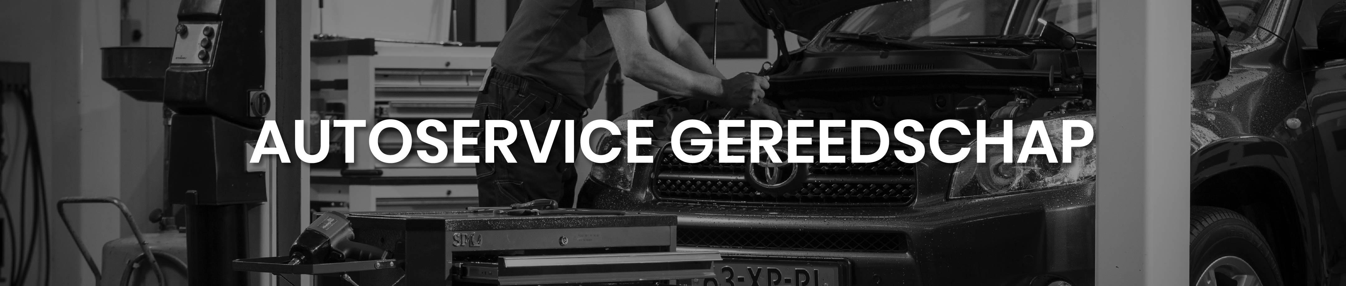 Autoservice gereedschap