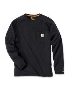 Carhartt 100393 T-Shirt Cotton l/m Force - Black
