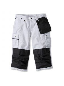 Carhartt 100455 Sale: Multi Pocket Ripstop Pirate Pant - White