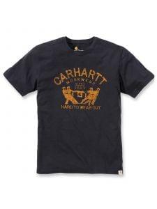 Carhartt 102097 Maddock Hard To Wear Out T-Shirt k/m - Black