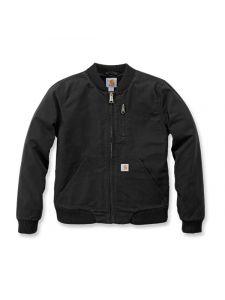 Carhartt 102524 Crawford Bomber Jacket - Black