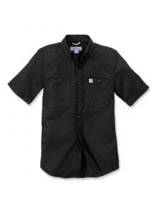 Carhartt 102537 Rugged Professional k/m Work Shirt - Black