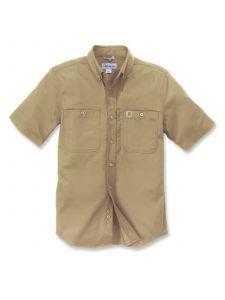 Carhartt 102537 Rugged Professional k/m Work Shirt - Dark Khaki