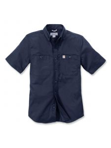 Carhartt 102537 Rugged Professional k/m Work Shirt - Navy