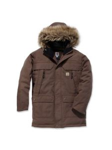 Carhartt 102728 Quick Dry Sawtooth Parka - Dark Canyon Brown
