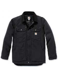 Carhartt 103283 Full Swing Sandstone Traditional Coat - Black