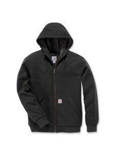 Carhartt 103308 Sherpa-Lined Midweight Full-Zip Sweatshirt - Peat
