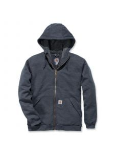 Carhartt 103308 Sherpa-Lined Midweight Full-Zip Sweatshirt - Carbon Heather