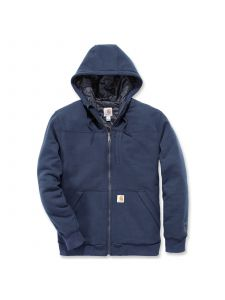 Carhartt 103312 Rockland Quilt-Lined Full-Zip Hooded Sweatshirt - New Navy
