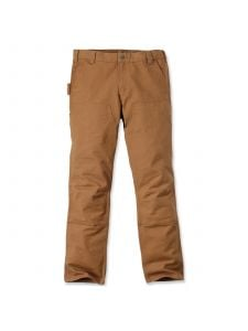 Carhartt 103340 Straight Fit Stretch Duck Double Front - C. Brown
