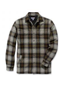 Carhartt 103821 Hubbard Sherpa Lined Shirt Jacket - Military Olive