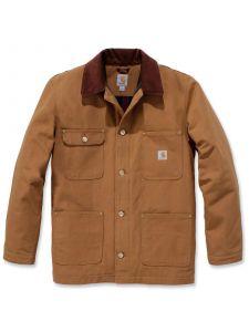 Carhartt 103825 Firm Duck Chore Coat - C. Brown