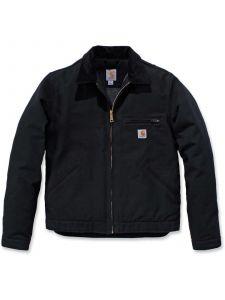 Carhartt 103828 Duck Detroit Jacket - Black