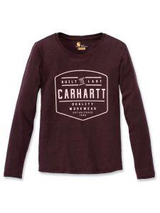 Carhartt 103929 Lockhart Graphic T-Shirt l/m - Fudge Heather