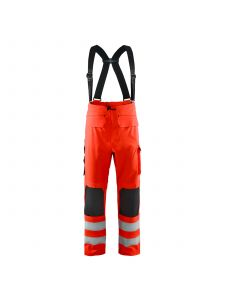 Rain Trousers High Vis Level 2 1302 High Vis Rood - Blåkläder