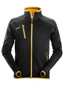 Snickers 8015 Jack A.I.S.Fleece Body Mapping - Black