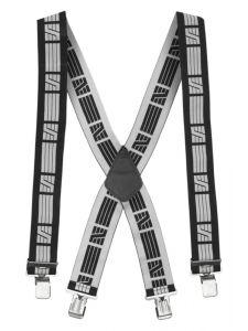 Snickers 9050 Elastische Bretels - Black/Grey
