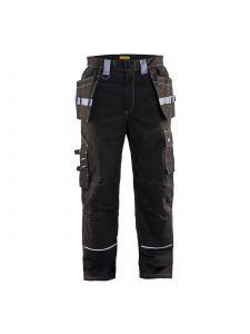 Flame Retardant Craftsman Trouser 1461 Zwart/Grijs - Blåkläder