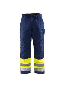 Winter Trouser High Vis 1862 High Vis Geel/Marineblauw - Blåkläder