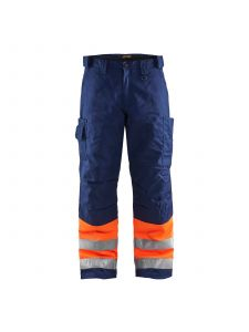 Winter Trouser High Vis 1862 High Vis Oranje/Marineblauw - Blåkläder