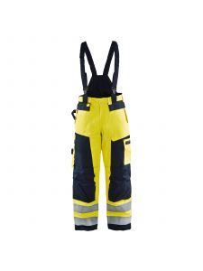Multinorm Winter Trouser 1868 High Vis Geel/Marineblauw - Blåkläder