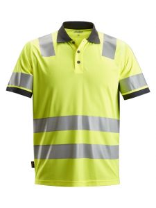 Snickers 2730 AllroundWork, High-Vis Poloshirt Klasse 2 - High Vis Yellow