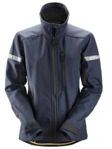 Snickers 1207 AllroundWork, Softshell Damesjack - Navy