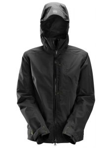Snickers 1367 AllroundWork, Waterproof Shell Damesjack - Black