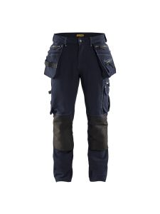 Blåkläder 1998-1644 Work Trousers 4-Way Stretch - Dark Navy