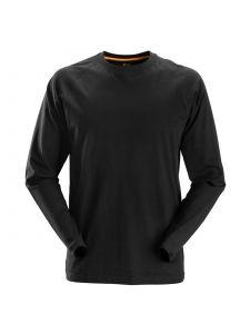 Snickers 2410 AllroundWork, T-Shirt l/m - Black