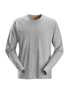 Snickers 2410 AllroundWork, T-Shirt l/m - Grey