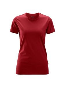 Snickers 2516 Dames T-Shirt - Chili Red