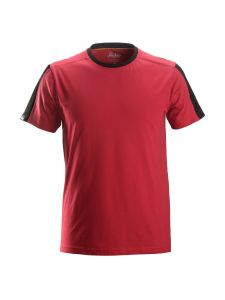 Snickers 2518 AllroundWork, T-Shirt - Chili Red