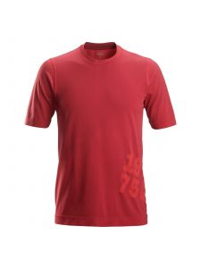 Snickers 2519 FlexiWork, 37.5® Tech T-Shirt s/s - Chili Red