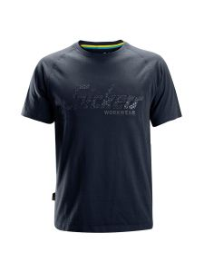 Snickers 2580 Logo T-shirt - Navy