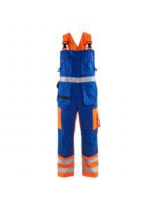 Bib Overalls High Vis 2603 High Vis Oranje/Korenblauw - Blåkläder