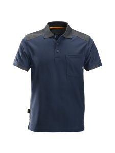 Snickers 2701 AllroundWork, 37.5® Technologie Verstevigd Poloshirt - Navy/Steel Grey