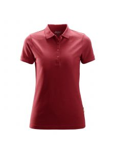 Snickers 2702 Dames Poloshirt - Chili Red