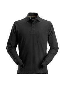 Snickers 2712 Rugby Shirt - Black