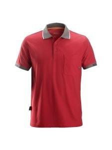 Snickers 2724 AllroundWork, 37.5 ® Technologie Polo Shirt s/s - Chili Red