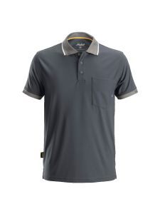 Snickers 2724 AllroundWork, 37.5 ® Technologie Polo Shirt s/s - Steel Grey