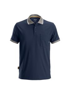 Snickers 2724 AllroundWork, 37.5 ® Technologie Polo Shirt s/s - Navy