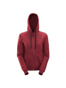 Snickers 2806 Dames Zip Hoodie - Chili Red