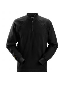 Snickers 2813 ½ Zip Sweatshirt met MultiPockets™ - Black