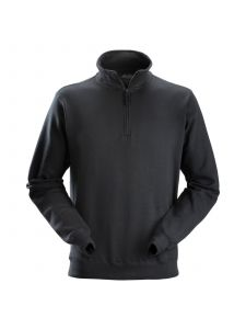 Snickers 2818 ½ Zip Sweatshirt - Black