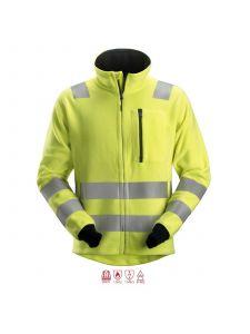 Snickers 2860 ProtecWork, Fleece Jack Klasse 3 - High Vis Yellow