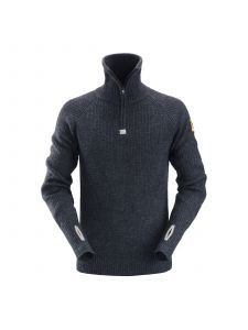 Snickers 2905 ½-Zip Wollen Sweater - Navy