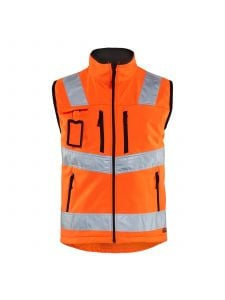 High Vis Softshell Vest 3049 High Vis Oranje - Blåkläder